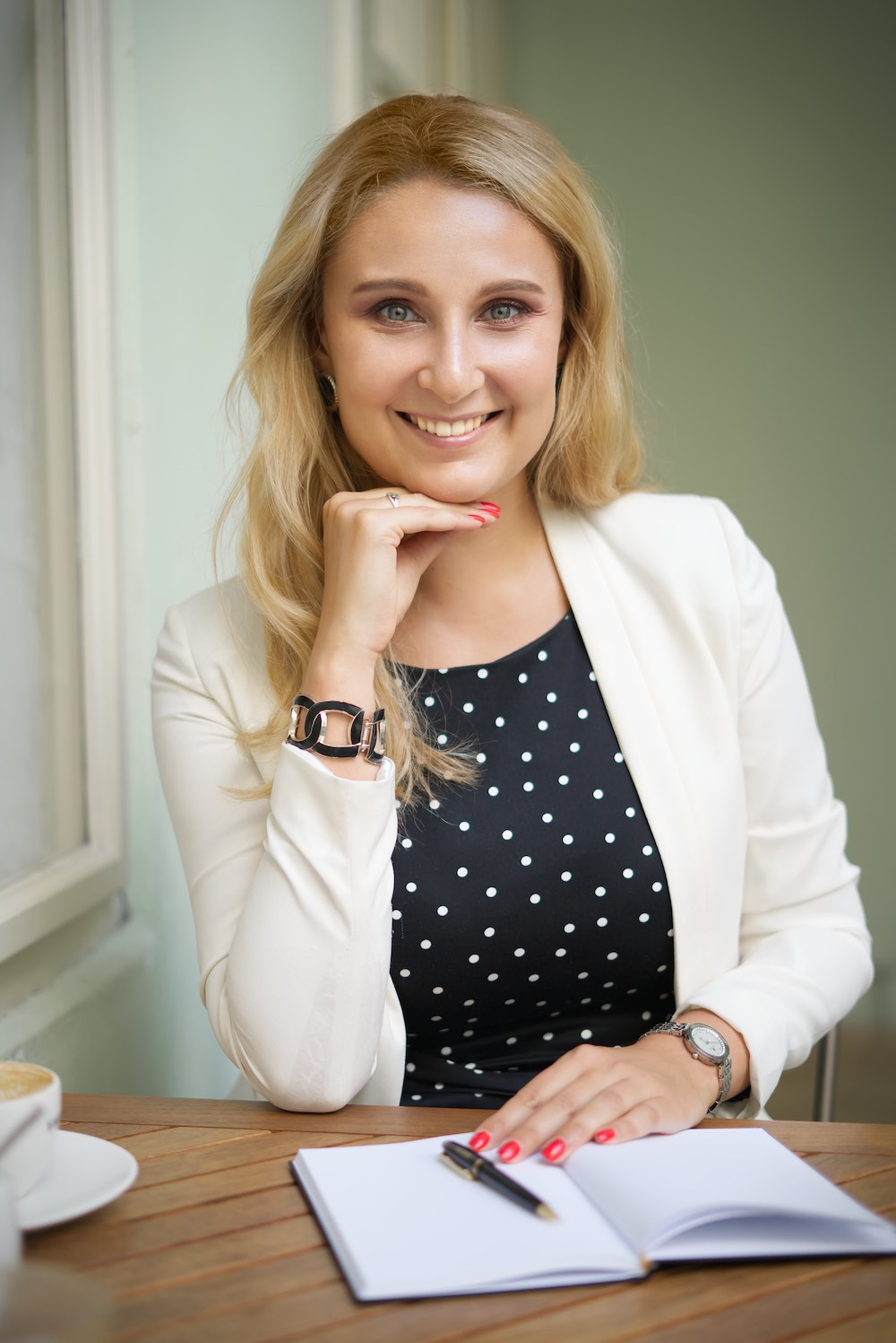 profilová fotografie podnikatelky │ profile photography of a businesswoman