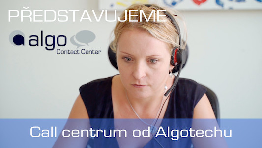 Představujeme Algo Contact Center │ Introducing Algo Contact Center